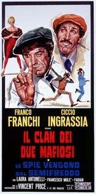Spie vengono dal semifreddo - Italian Theatrical movie poster (xs thumbnail)
