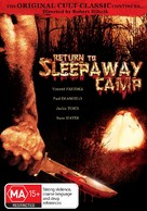 Return to Sleepaway Camp - Australian DVD cover (xs thumbnail)