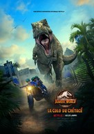 """""""Jurassic World: Camp Cretaceous"""" - French Movie Poster (xs thumbnail)"""
