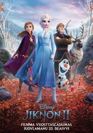 Frozen II - Finnish Movie Poster (xs thumbnail)