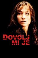 Enough - Slovenian Movie Poster (xs thumbnail)