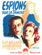 Ministry of Fear - French Movie Poster (xs thumbnail)