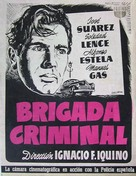 Brigada criminal - Spanish Movie Poster (xs thumbnail)