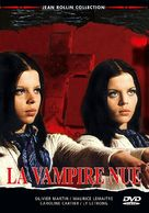 La vampire nue - French DVD movie cover (xs thumbnail)