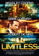 Limitless - Swiss Movie Poster (xs thumbnail)