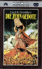 The Ten Commandments - German VHS movie cover (xs thumbnail)