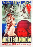 Hangmen Also Die! - Italian Movie Poster (xs thumbnail)