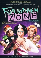 Forbidden Zone - DVD cover (xs thumbnail)