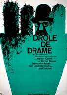 Drôle de drame ou L'ètrange aventure de Docteur Molyneux - German Movie Poster (xs thumbnail)
