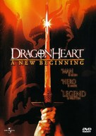 Dragonheart: A New Beginning - DVD movie cover (xs thumbnail)