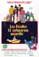 Yellow Submarine - Argentinian Movie Poster (xs thumbnail)