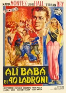 Ali Baba and the Forty Thieves - Italian Movie Poster (xs thumbnail)