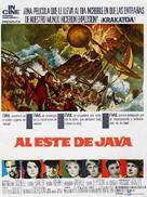Krakatoa, East of Java - Spanish Movie Poster (xs thumbnail)