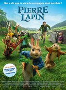 Peter Rabbit - French Movie Poster (xs thumbnail)