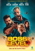 Boss Level - French DVD movie cover (xs thumbnail)