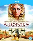 Cleopatra - British Blu-Ray movie cover (xs thumbnail)