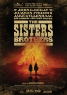 The Sisters Brothers - Dutch Movie Poster (xs thumbnail)