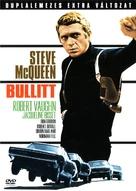 Bullitt - Hungarian DVD cover (xs thumbnail)