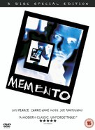 Memento - British Movie Cover (xs thumbnail)