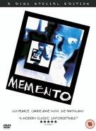 Memento - British Movie Cover (xs thumbnail)