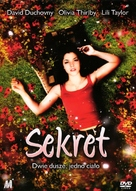 The Secret - Polish DVD cover (xs thumbnail)