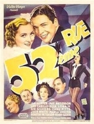 52nd Street - French Movie Poster (xs thumbnail)