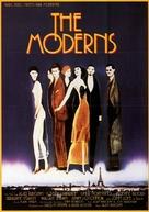 The Moderns - German Movie Poster (xs thumbnail)