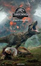 Jurassic World Fallen Kingdom - Spanish Movie Poster (xs thumbnail)