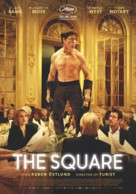 The Square - Swiss Movie Poster (xs thumbnail)