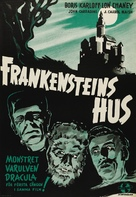 House of Frankenstein - Swedish Theatrical poster (xs thumbnail)