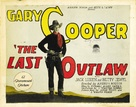The Last Outlaw - Movie Poster (xs thumbnail)