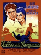 Vengeance Valley - French Movie Poster (xs thumbnail)