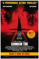 Crimson Tide - Video release movie poster (xs thumbnail)