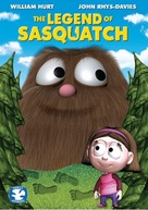 The Legend of Sasquatch - DVD cover (xs thumbnail)