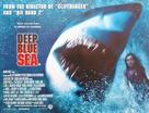 Deep Blue Sea - British Movie Poster (xs thumbnail)