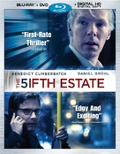 The Fifth Estate - Blu-Ray cover (xs thumbnail)