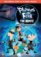 Phineas and Ferb: Across the Second Dimension - DVD cover (xs thumbnail)