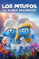 Smurfs: The Lost Village - Spanish Movie Cover (xs thumbnail)