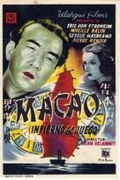 Macao, l'enfer du jeu - Spanish Movie Poster (xs thumbnail)