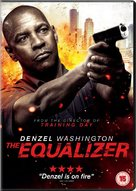 The Equalizer - British DVD movie cover (xs thumbnail)