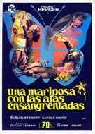 Una farfalla con le ali insanguinate - Spanish Movie Poster (xs thumbnail)