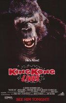 King Kong Lives - Movie Poster (xs thumbnail)