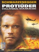 Collateral Damage - Czech DVD movie cover (xs thumbnail)
