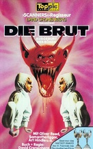 The Brood - German VHS cover (xs thumbnail)