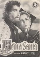 Reina santa - Spanish Movie Poster (xs thumbnail)
