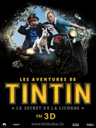 The Adventures of Tintin: The Secret of the Unicorn - Swiss Movie Poster (xs thumbnail)