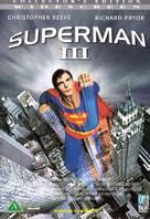Superman III - Danish DVD cover (xs thumbnail)