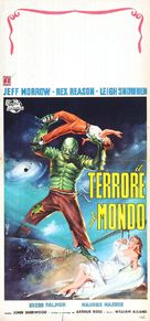 The Creature Walks Among Us - Italian Movie Poster (xs thumbnail)