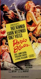 Paris Blues - French Movie Poster (xs thumbnail)