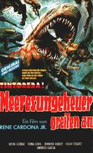 ¡Tintorera! - German VHS cover (xs thumbnail)